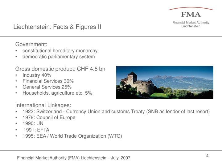 Liechtenstein: Facts & Figures II
