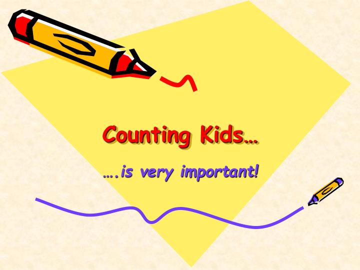 Counting Kids…