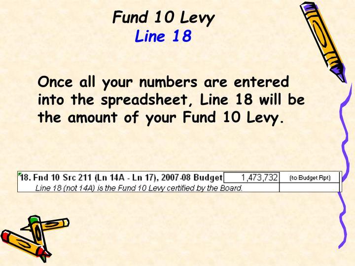 Fund 10 Levy
