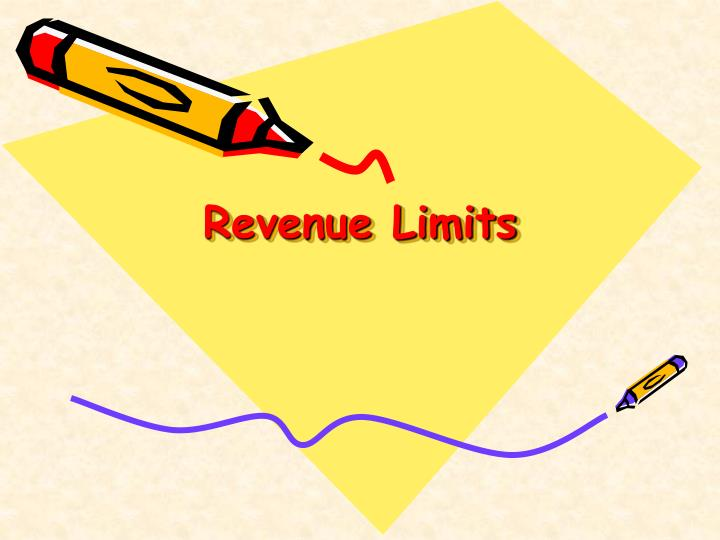 Revenue Limits
