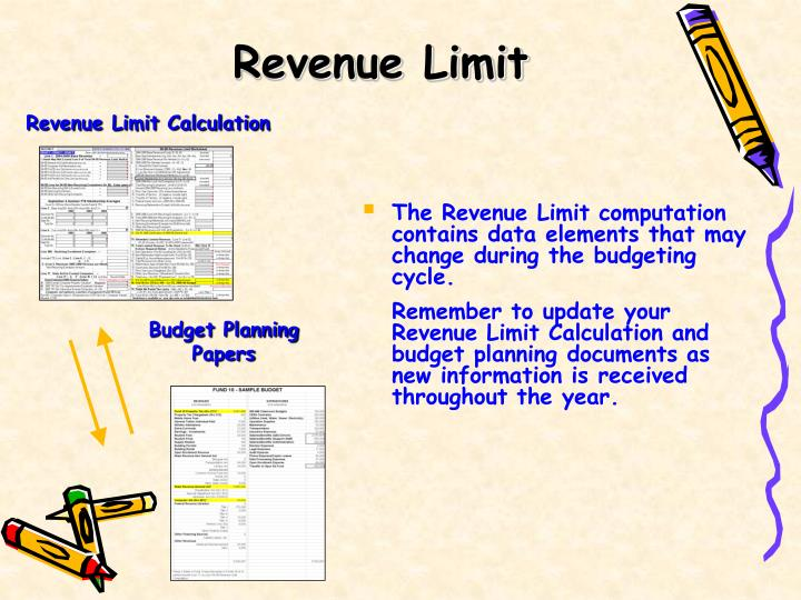 Revenue Limit