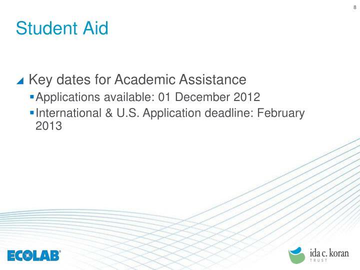 Student Aid