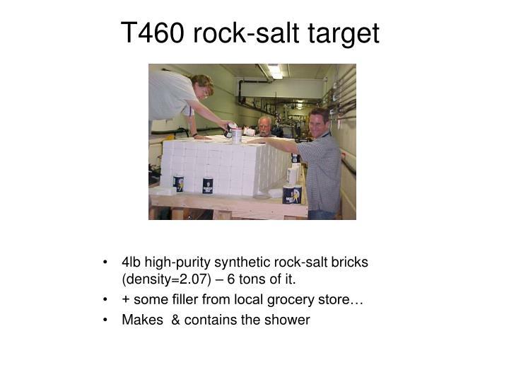 4lb high-purity synthetic rock-salt bricks (density=2.07) – 6 tons of it.