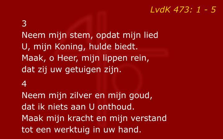 LvdK 473: 1 - 5