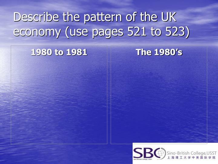 1980 to 1981