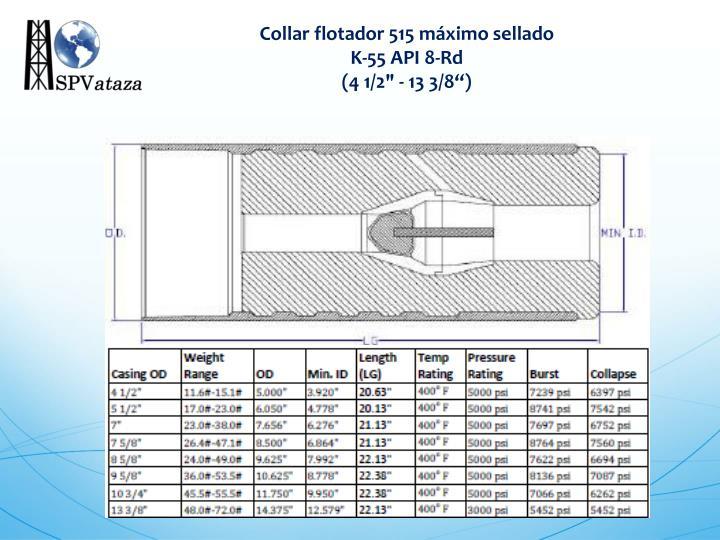 Collar flotador 515