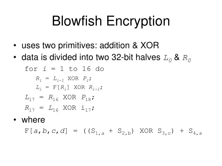 Blowfish Encryption