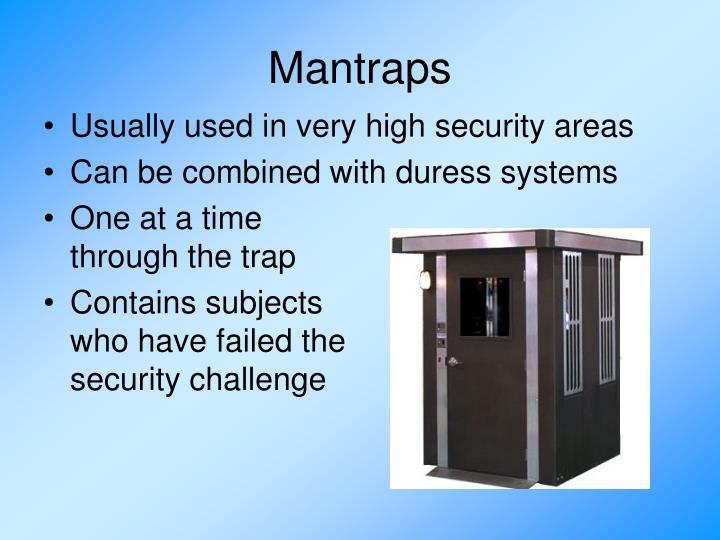 Mantraps