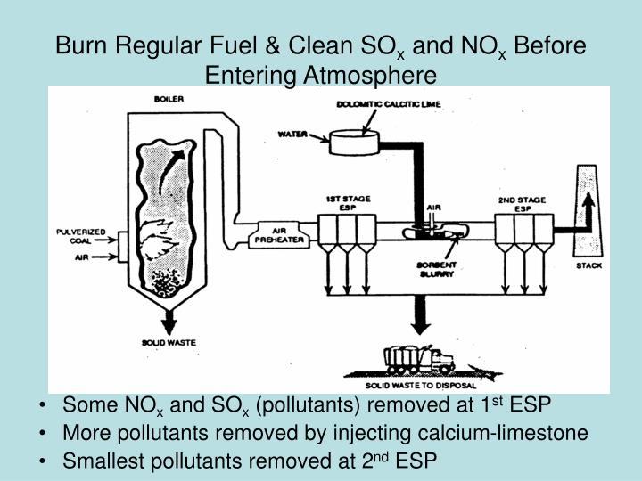 Burn Regular Fuel & Clean SO