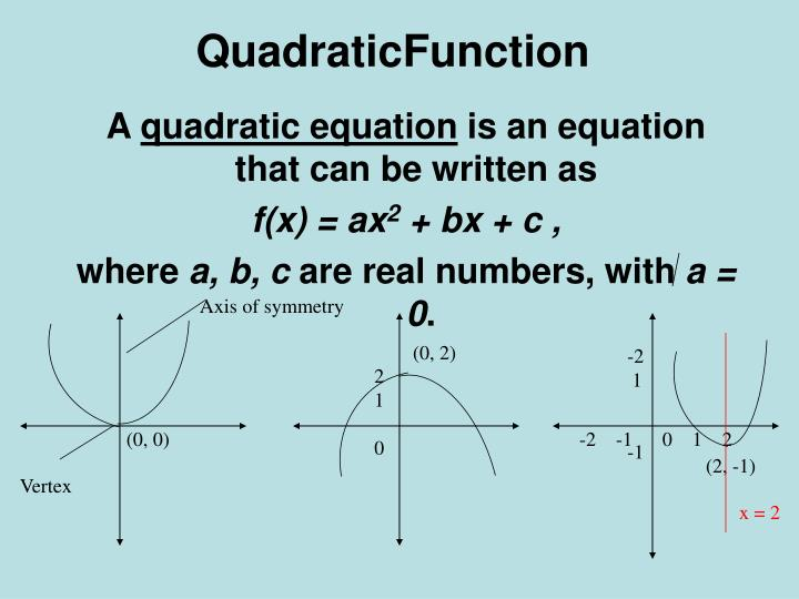 QuadraticFunction