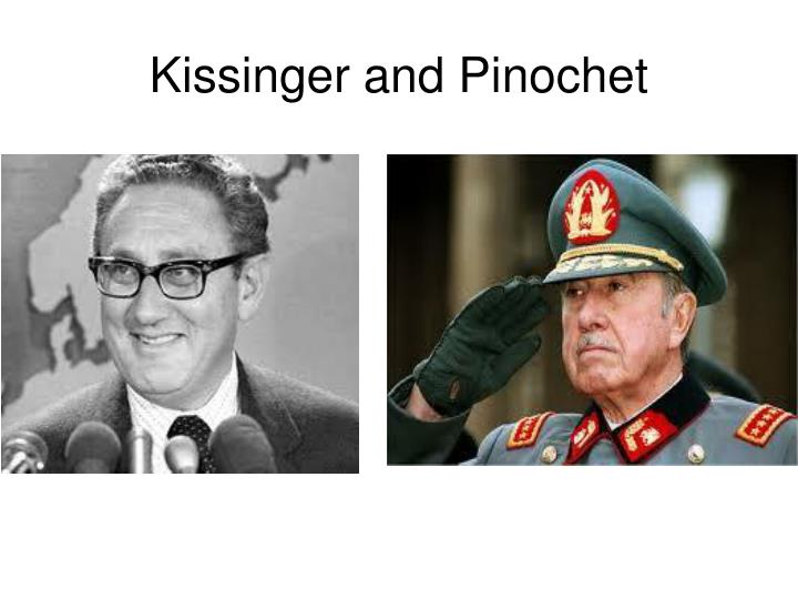 Kissinger and Pinochet