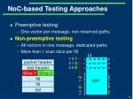 noc based testing approaches2