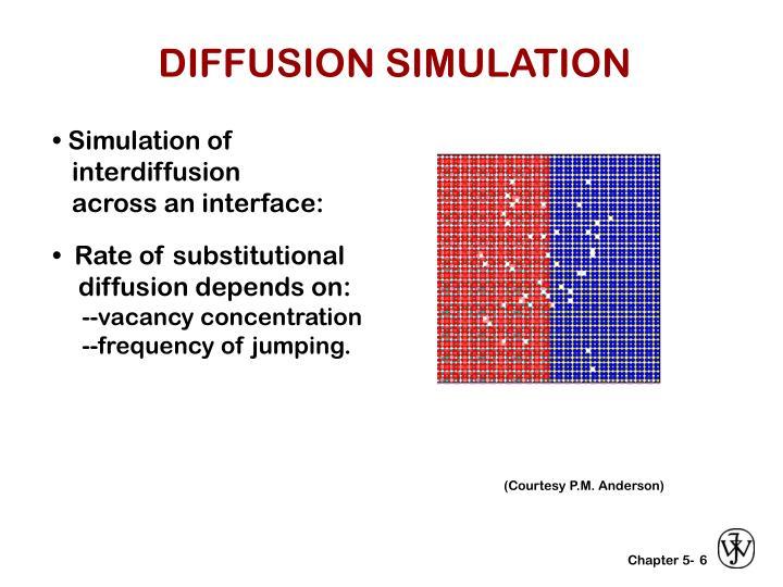 DIFFUSION SIMULATION