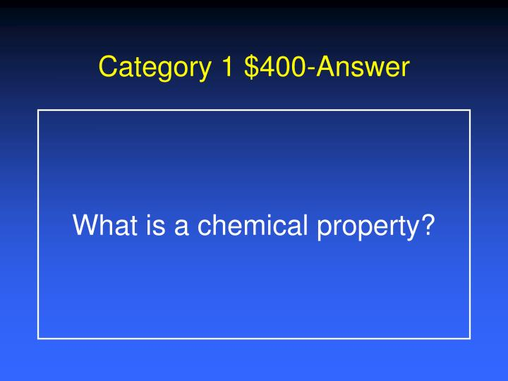 Category 1 $400-Answer