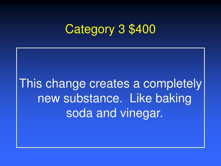 Category 3 $400