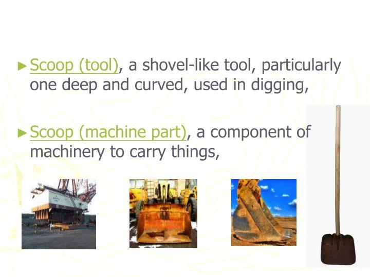 Scoop (tool)