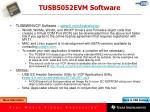 tusb5052evm software