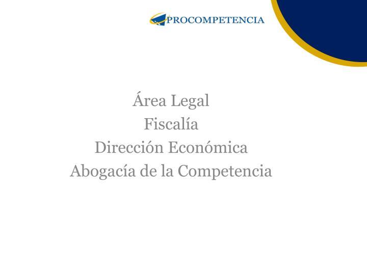 Área Legal