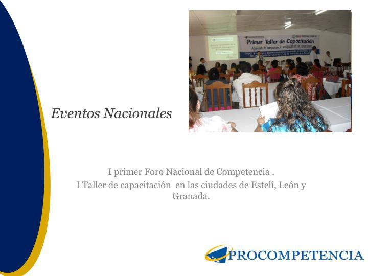 Eventos Nacionales