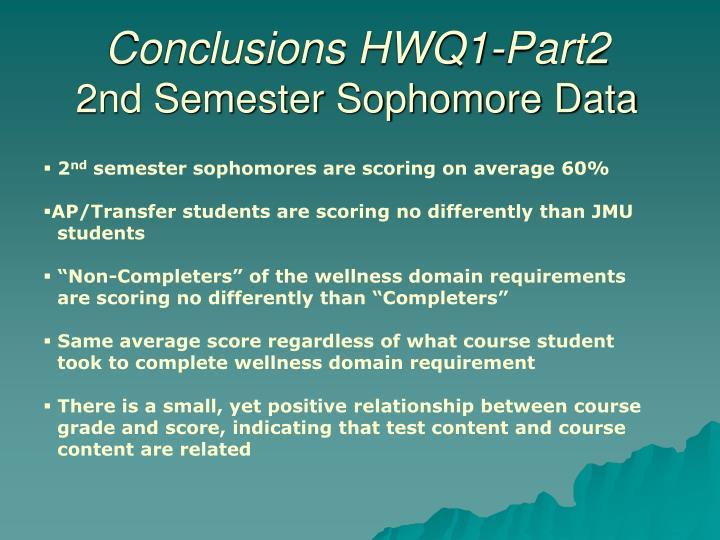 Conclusions HWQ1-Part2