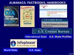 almanacs factbooks handbooks
