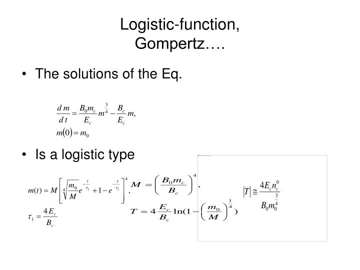 Logistic-function,