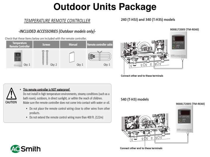 Outdoor Units Package