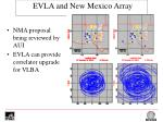 evla and new mexico array