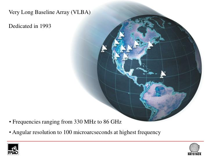 Very Long Baseline Array (VLBA)