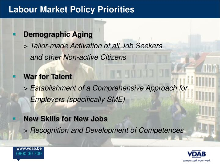 Labour Market Policy Priorities