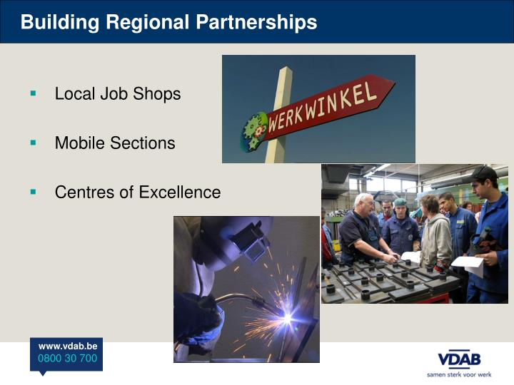 Building Regional Partnerships