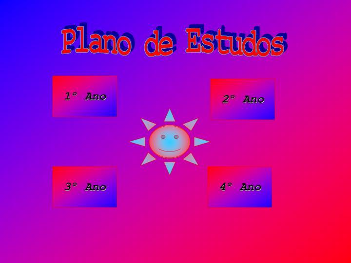 Plano de Estudos