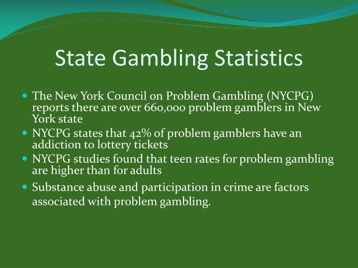 State Gambling Statistics