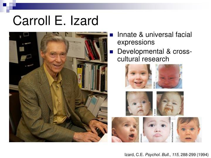 Carroll E. Izard