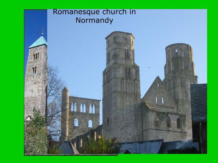 Romanesque church in Poland