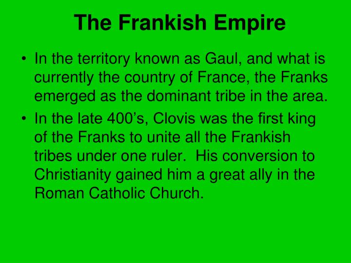 The Frankish Empire