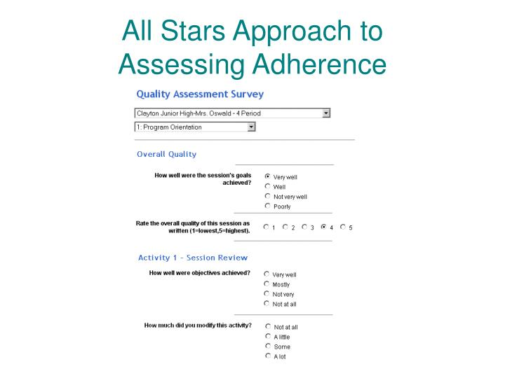 All Stars Approach to