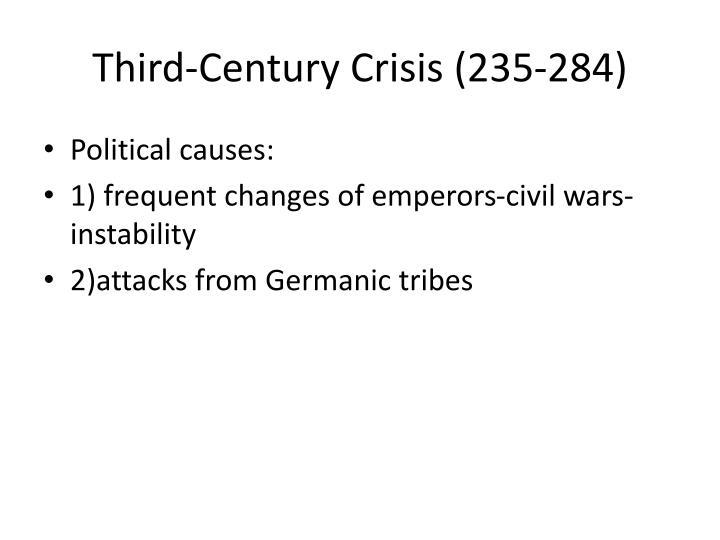 Third-Century Crisis (235-284)