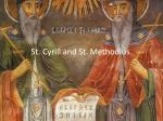 st cyrill and st methodius