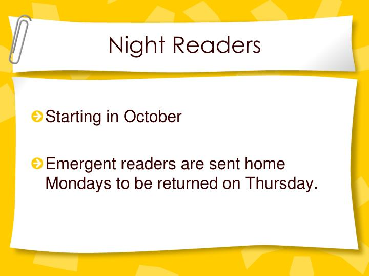 Night Readers