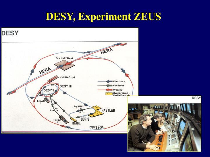 DESY, Experiment ZEUS