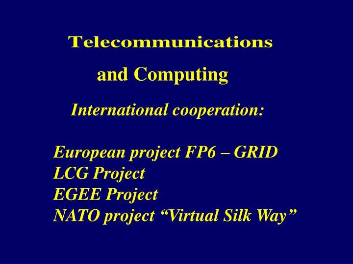 and Computing