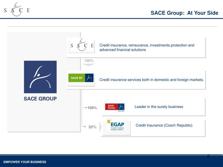 SACE Group:  At Your Side