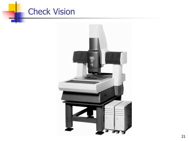 Check Vision