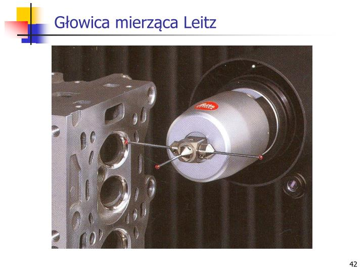 Głowica mierząca Leitz