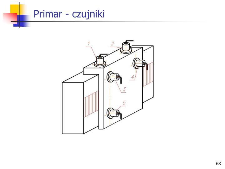Primar - czujniki