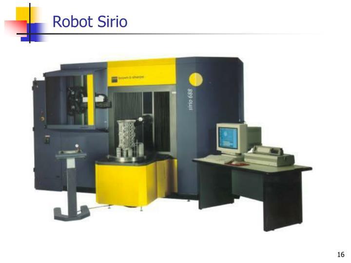 Robot Sirio