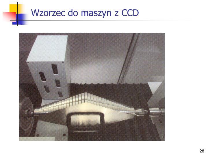 Wzorzec do maszyn z CCD