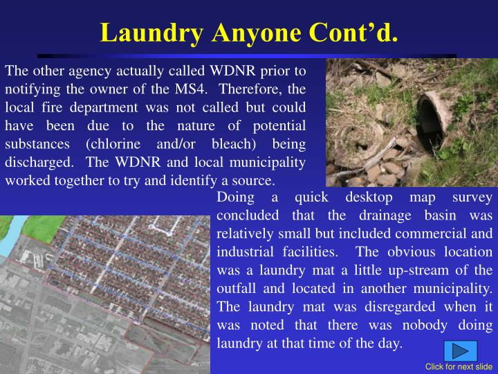 Laundry Anyone Cont'd.