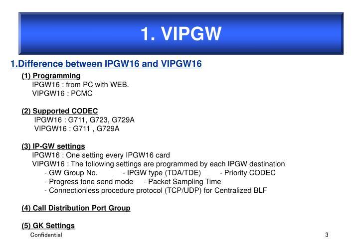 1. VIPGW